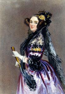 Августа Ада Кинг (урождённая Байрон), графиня Лавлейс