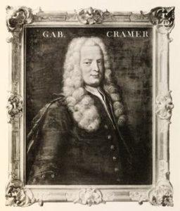 Родился Габриэль Крамер